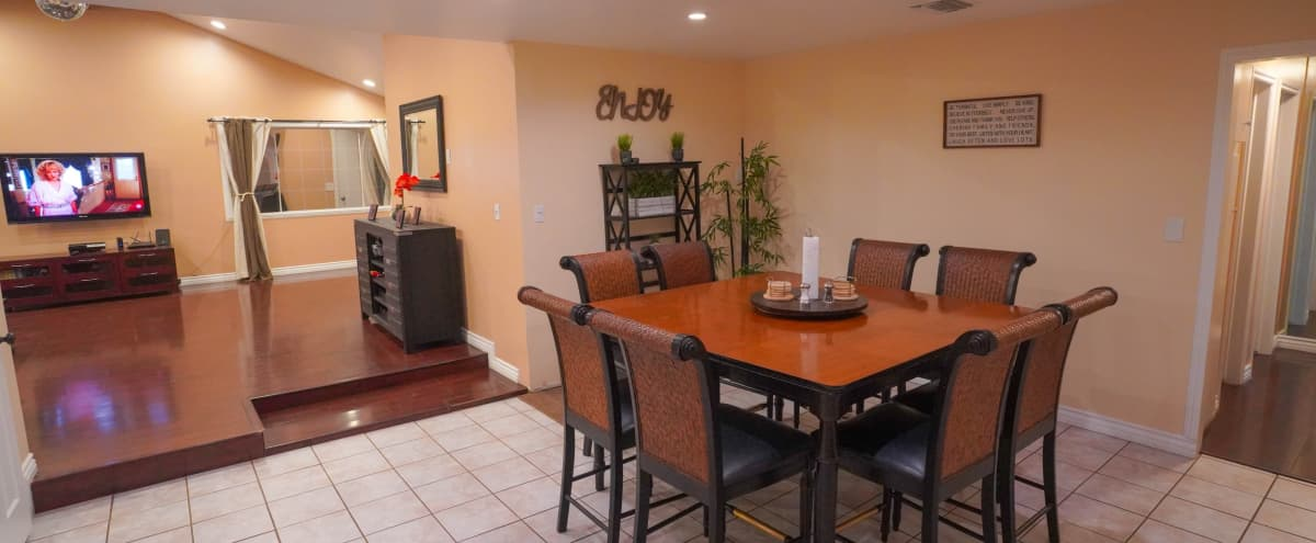 Spacious 1740 sqft house with large living room & lighting in Buena Park Hero Image in undefined, Buena Park, CA