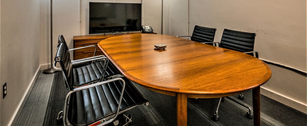 Modern Contemporary Private Conference Room within walking distance to Restaurants & Shops in Austin Hero Image in Zilker, Austin, TX