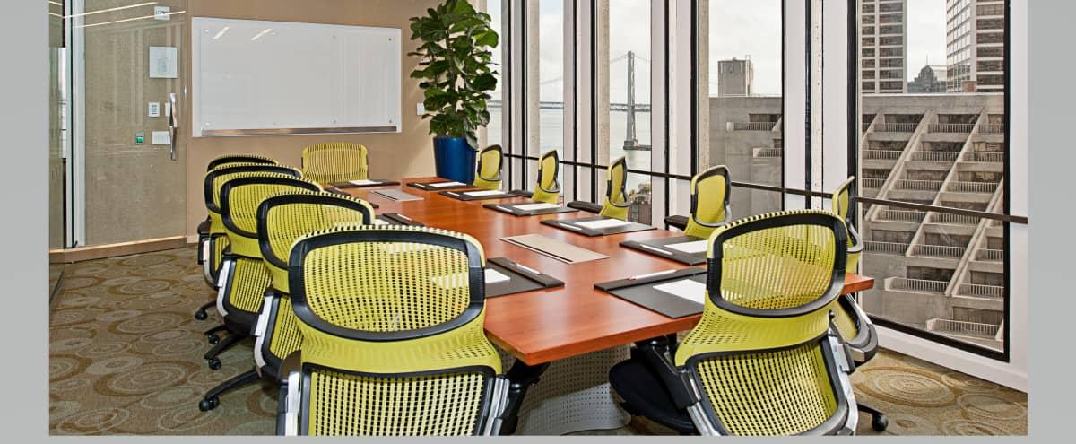 Boardroom in the Heart of San Francisco's Embarcadero Center in San Francisco Hero Image in Embarcadero, San Francisco, CA