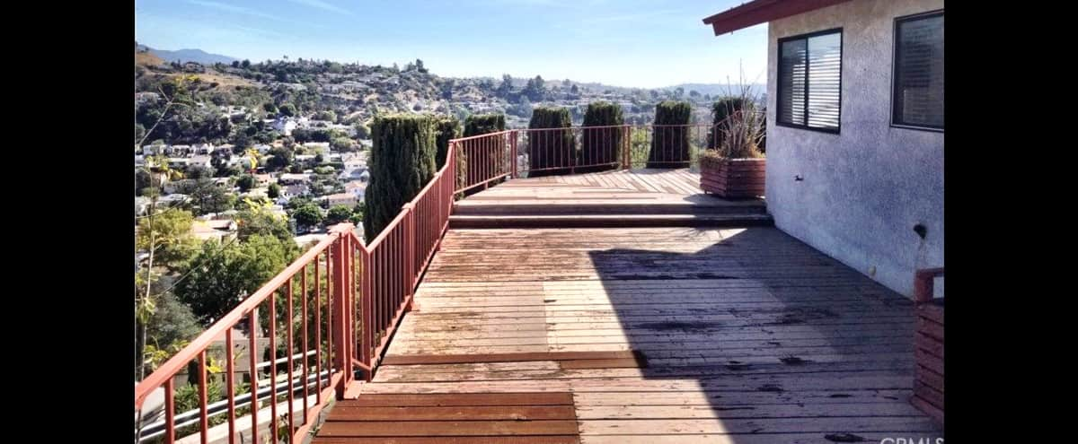 Spacious Home With 180 Degree Views On The Apex Of Adams Hill in Los Angeles Hero Image in Eagle Rock, Los Angeles, CA