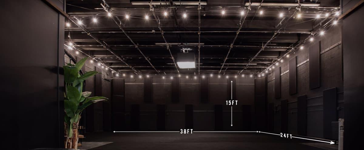 Modern Black Box Studio in East Nashville in Nashville Hero Image in East Nashville, Nashville, TN