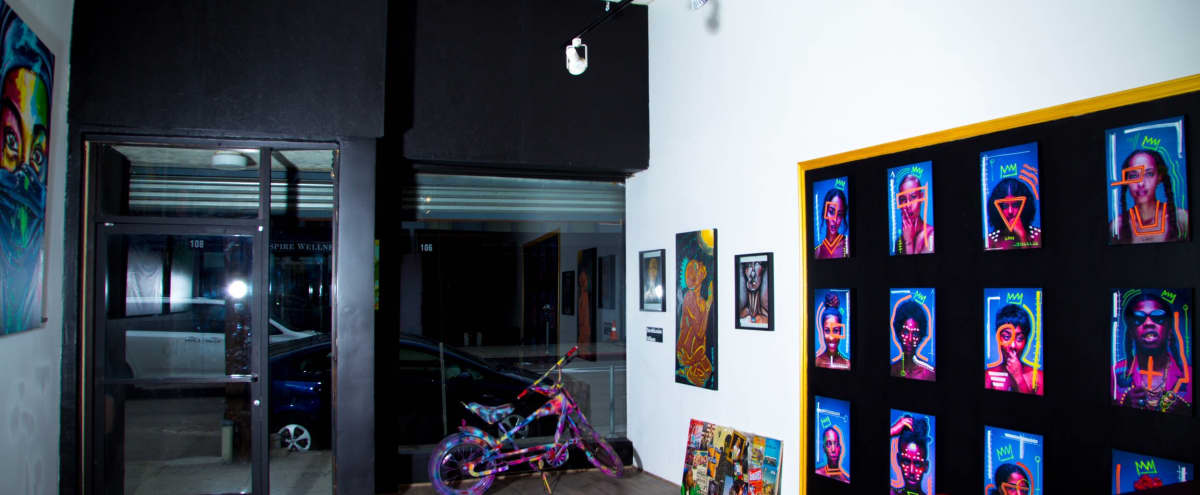 Downtown Art Gallery Space in Los Angeles Hero Image in Central LA, Los Angeles, CA