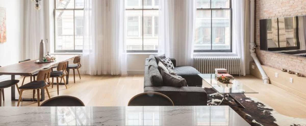 Sunny Soho Loft in New York Hero Image in Lower Manhattan, New York, NY