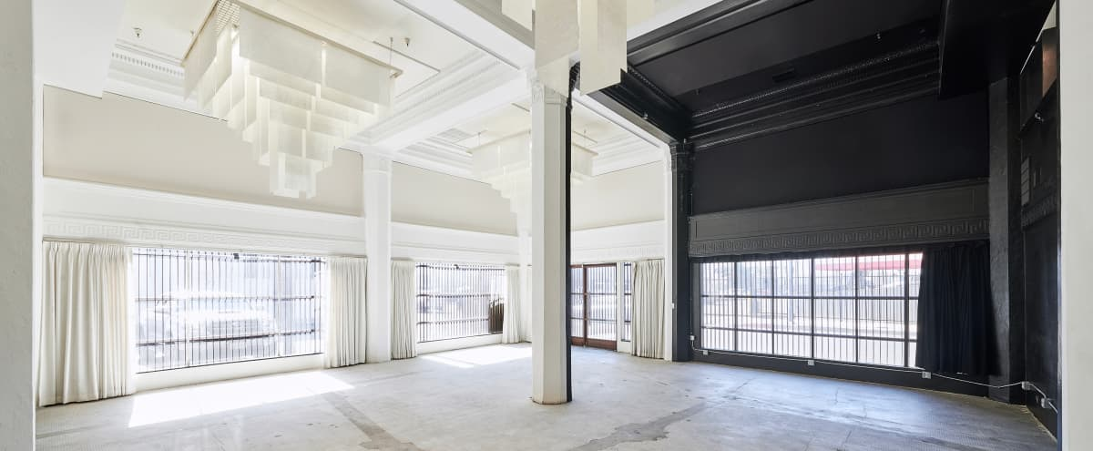 Historic Bank Turned Daylight Photo Studio + Film Space in DTLA Arts District featuring Private Alley and Bank Vault in LOS ANGELES Hero Image in Central LA, LOS ANGELES, CA
