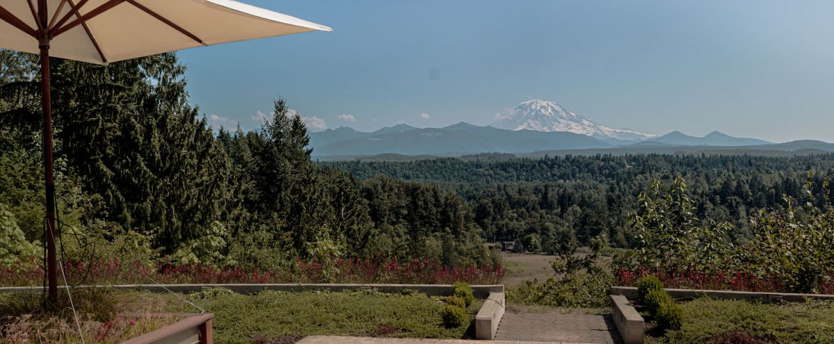 Outdoor Event Space with Mountain View in Buckley Hero Image in undefined, Buckley, WA