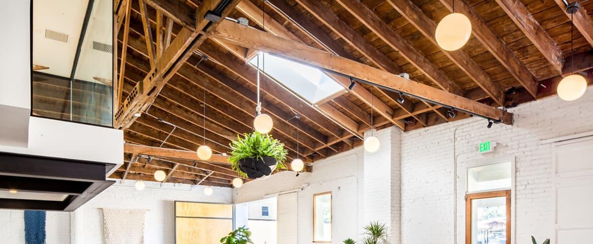 Creative Warehouse Studio with Outdoor Garden Space in Highland Park in Los Angeles Hero Image in Northeast Los Angeles, Los Angeles, CA