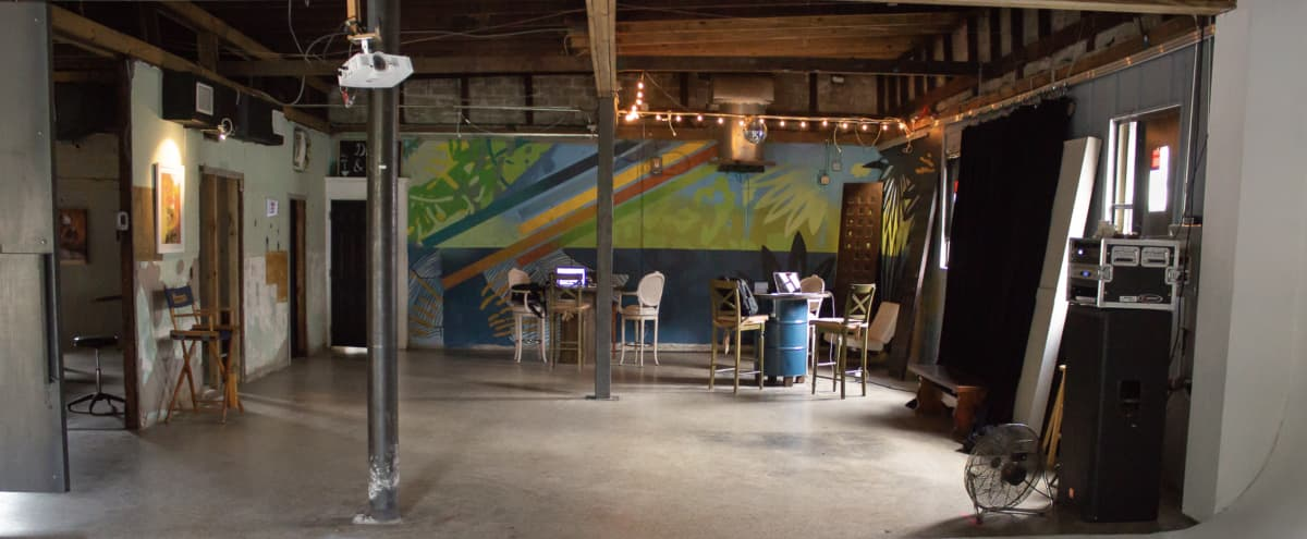 Industrial Creative Space for Off-Sites in Tampa Hero Image in Ybor City, Tampa, FL