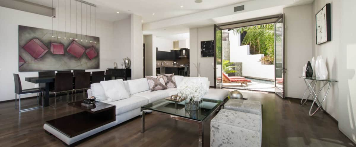 Beverly Hills Modern Furnished Luxury Home in Beverly Hills Hero Image in undefined, Beverly Hills, CA