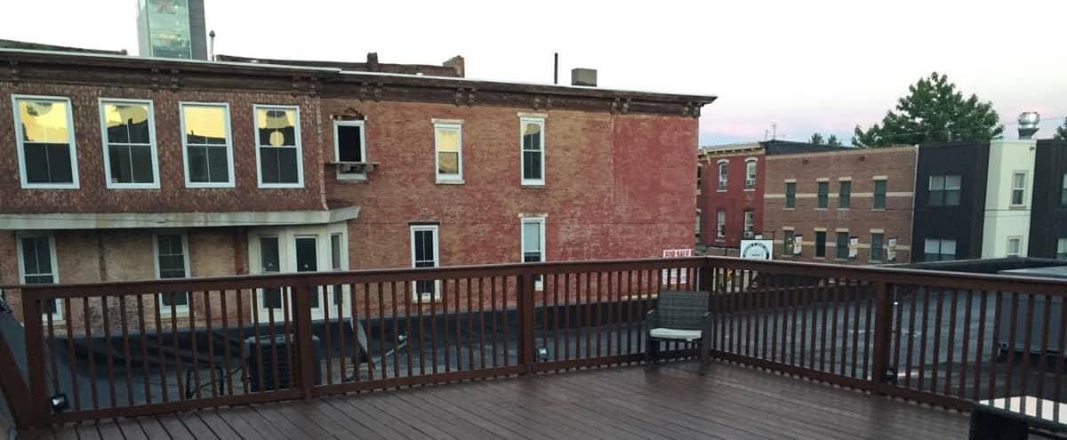 Yorktown Loft Space | Outdoor Roof Patio in Philadelphia Hero Image in Cecil B. Moore, Philadelphia, PA