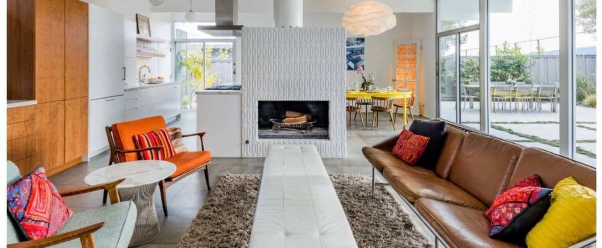 Bright Mid-Century Home with Period Furnishings in San Mateo Hero Image in undefined, San Mateo, CA