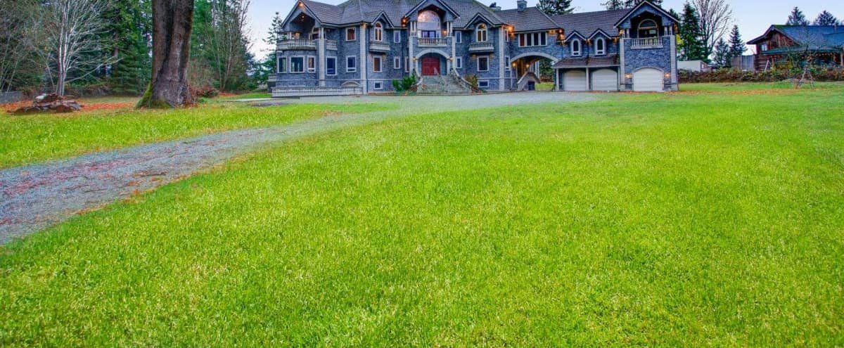 Modern Castle on 5+ Private Acres with Views of the Stillaguamish Valley in Arlington Hero Image in undefined, Arlington, WA
