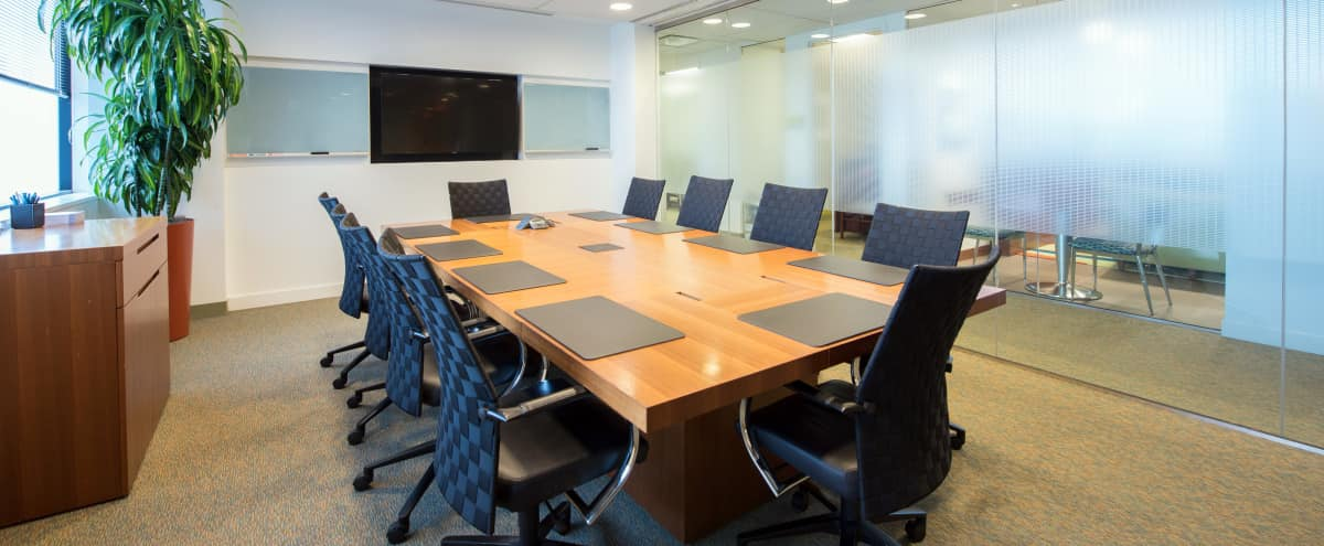 Well Appointed Boardroom in Downtown Bethesda in Bethesda Hero Image in undefined, Bethesda, MD