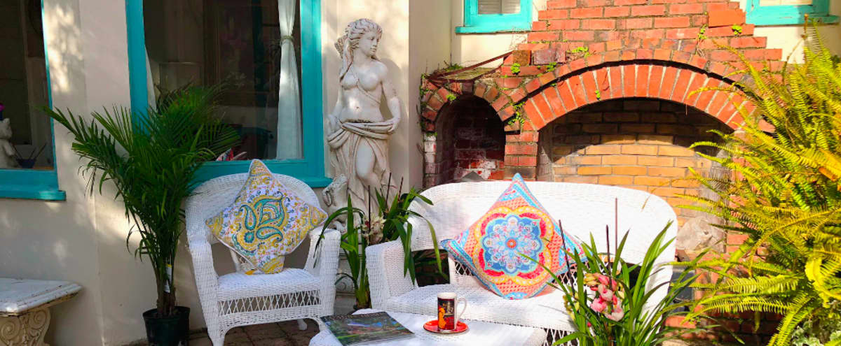 Sun Drenched   Artists Studio with Mediterranean Decor in Sunnyvale Hero Image in undefined, Sunnyvale, CA