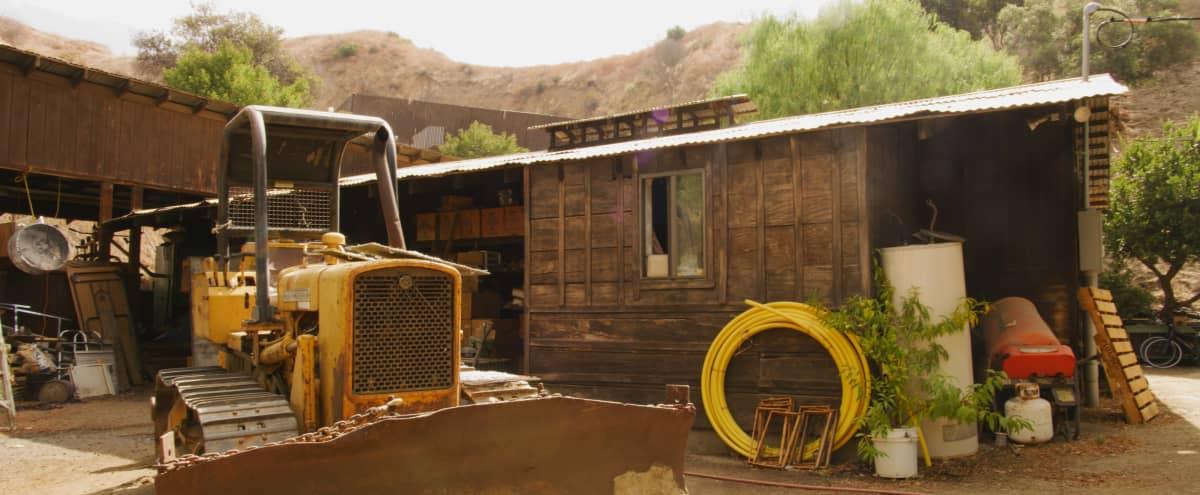 Run-Down Rustic Barn/Factory + Slaughterhouse + Warehouse + Horror Rustic Workshop in Sun Valley Hero Image in Sun Valley, Sun Valley, CA