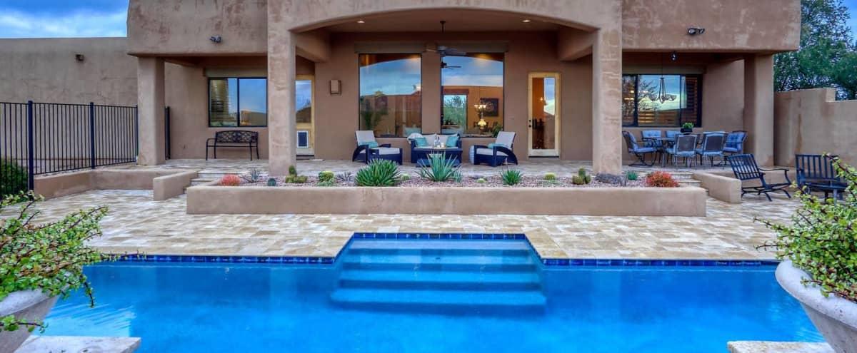 Film/Photo Location: Gorgeous Villa Retreat in Scottsdale Hero Image in Arizona Biltmore Hotel, Scottsdale, AZ