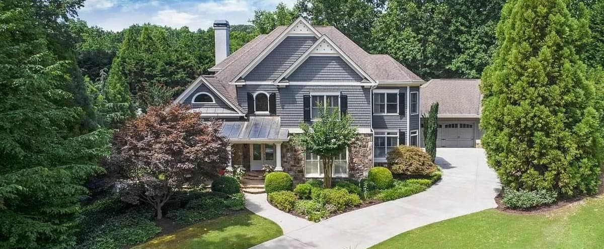 Grand 8,000 SF Home with Pool / Large Entertainment Area in Roswell GA in Roswell Hero Image in undefined, Roswell, GA