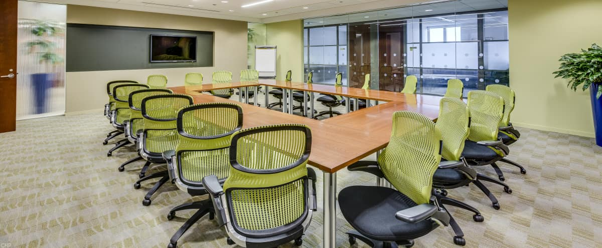 Large Training Room in Iconic Loop High Rise in Chicago Hero Image in The Loop, Chicago, IL