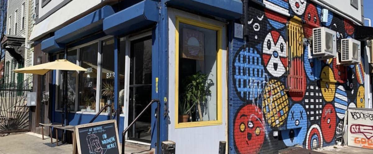 Laid-back neighborhood cafe/bar in Brooklyn Hero Image in Bushwick, Brooklyn, NY