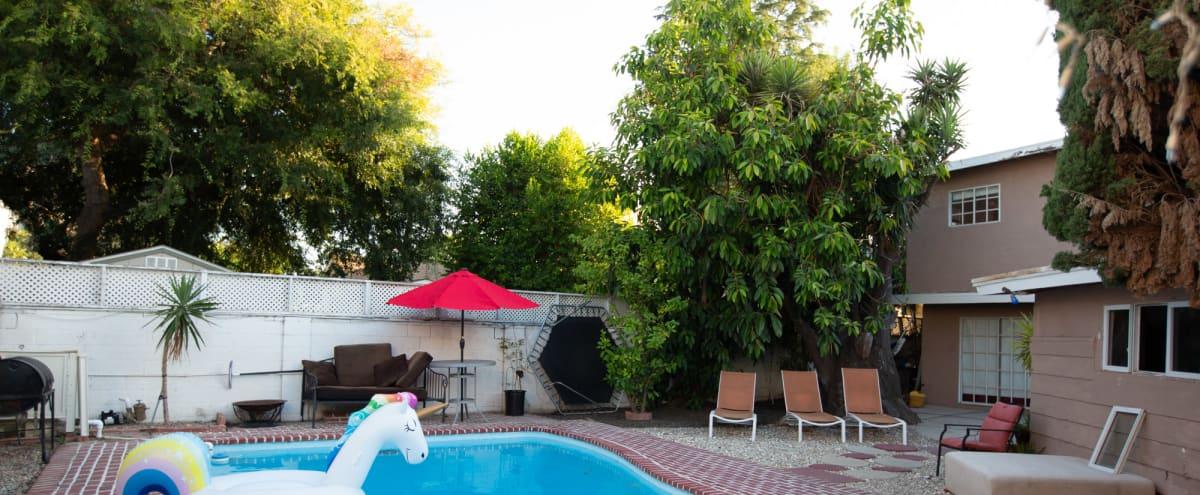Yard/pool/tiny poolhouse in Sherman oaks Hero Image in Sherman Oaks, Sherman oaks, CA