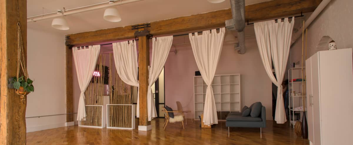 Open concept loft space in the heart of Dumbo, Brooklyn. in Brooklyn Hero Image in Vinegar Hill, Brooklyn, NY