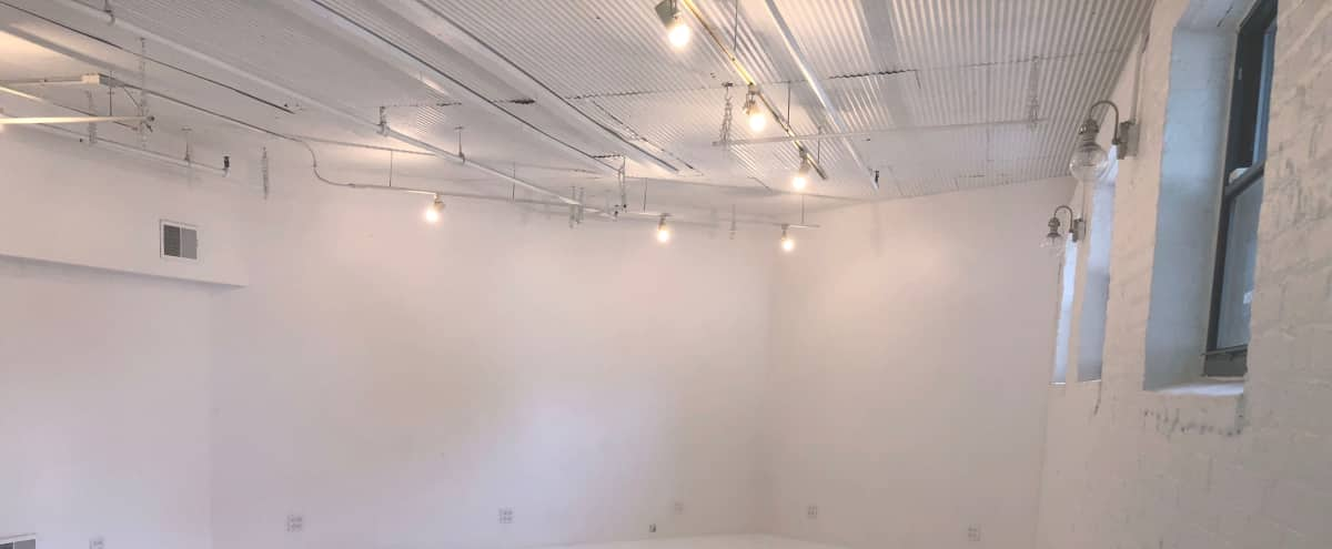 All white, spacious & affordable studio in Chicago Hero Image in Wicker Park, Chicago, IL