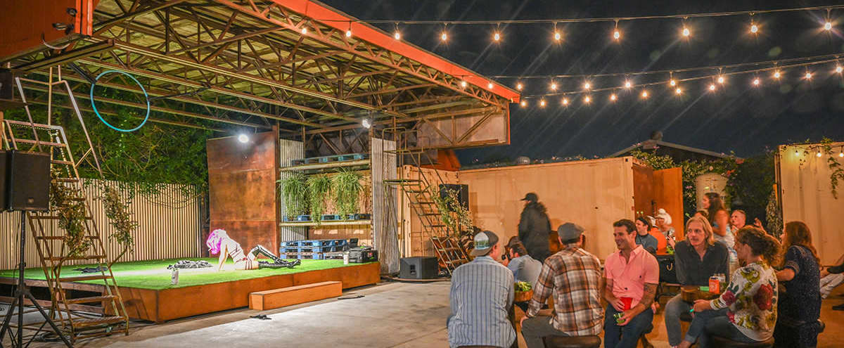 Vintage Industrial Outdoor Event Space in Signal Hill Hero Image in undefined, Signal Hill, CA