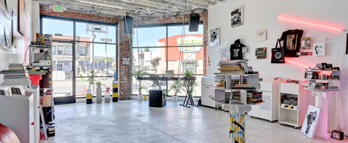Epic 80's Record Store with attached Bar/Coffee Space in Los Angeles Hero Image in Hollywood, Los Angeles, CA