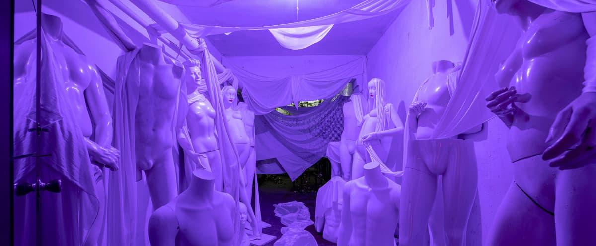 Raw Historic Surreal Locker Room in Brooklyn Hero Image in Bushwick, Brooklyn, NY