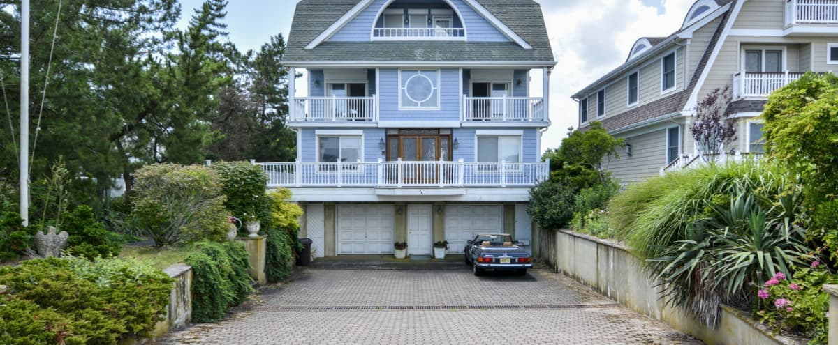 Quirky 1980s Stylised Beach House in Sea Girt Hero Image in undefined, Sea Girt, NJ