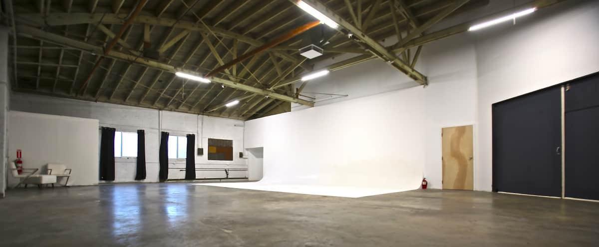 Huge East Side studio / warehouse with 30' cyc in Los Angeles Hero Image in Echo Park, Los Angeles, CA