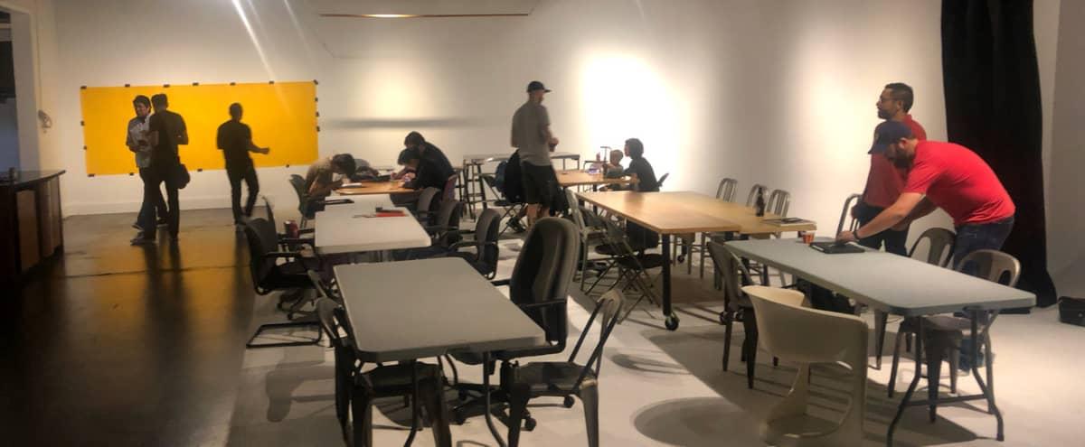 Floor to Ceiling Bright White Canvas Event Space (Studio A & B) in Phoenix Hero Image in Encanto Village, Phoenix, AZ