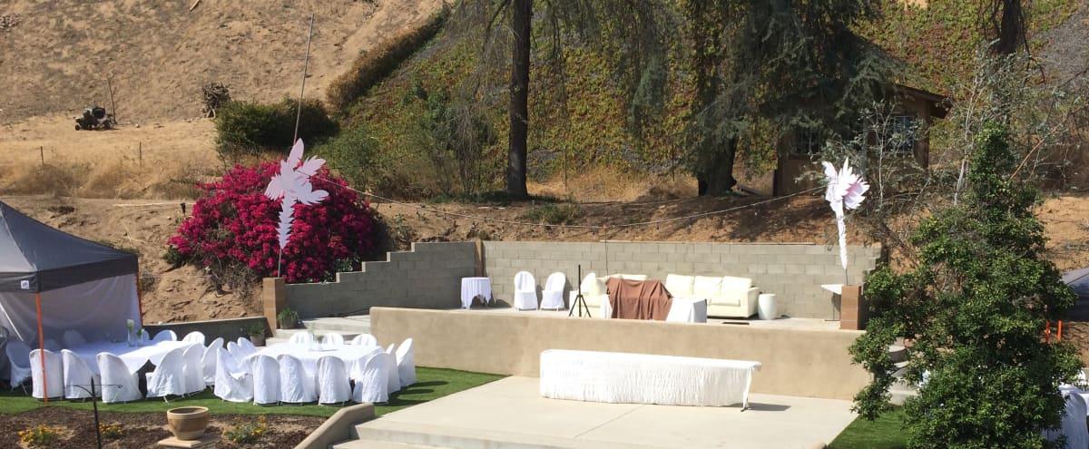Spacious Mid Century Modern Backyard in San Bernardino Hero Image in Belevedere, San Bernardino, CA