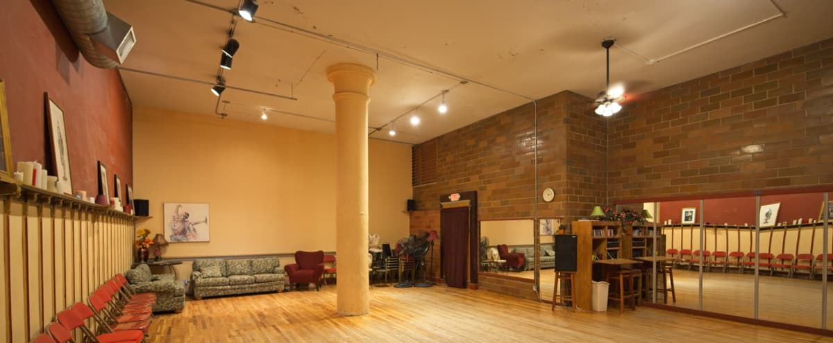 Rustic Open Studio Space - Dance Floor - Loring Park in Minneapolis Hero Image in Central Minneapolis, Minneapolis, MN