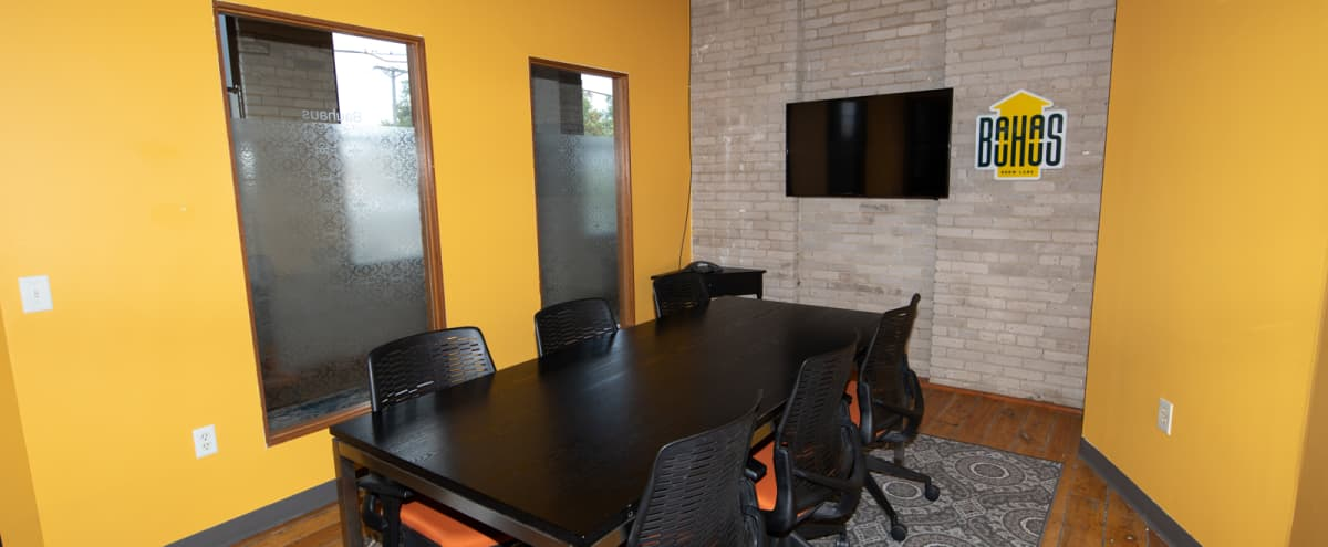 Colorful Conference Room w/ Screen in Northeast, MPLS in Minneapolis Hero Image in Logan Park, Minneapolis, MN