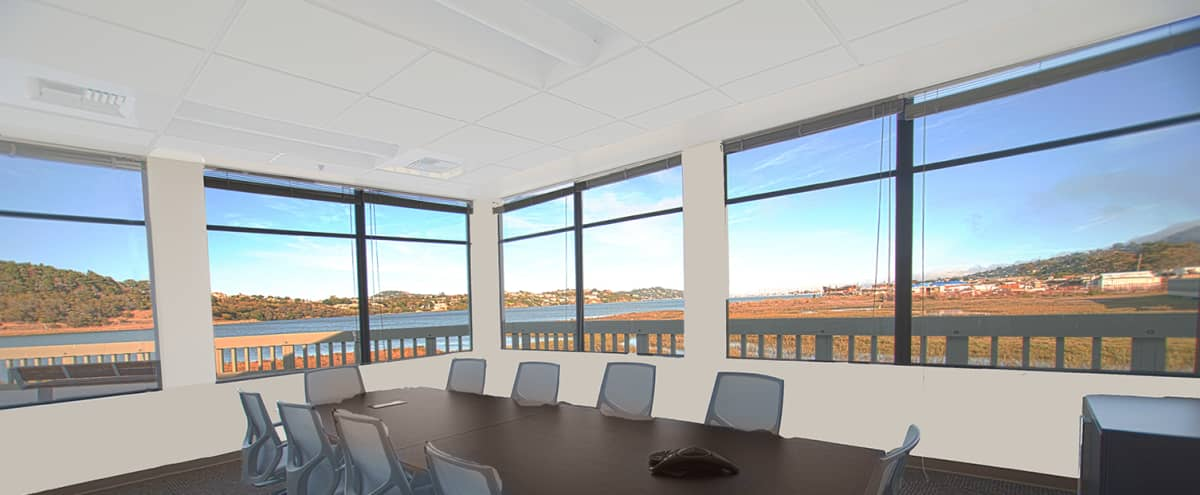 10 person conference room & outdoor view in Mill Valley Hero Image in undefined, Mill Valley, CA