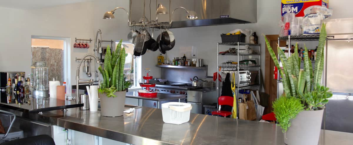 Commercial Grade Dream Artistic Kitchen in Los Angeles Hero Image in Northeast Los Angeles, Los Angeles, CA