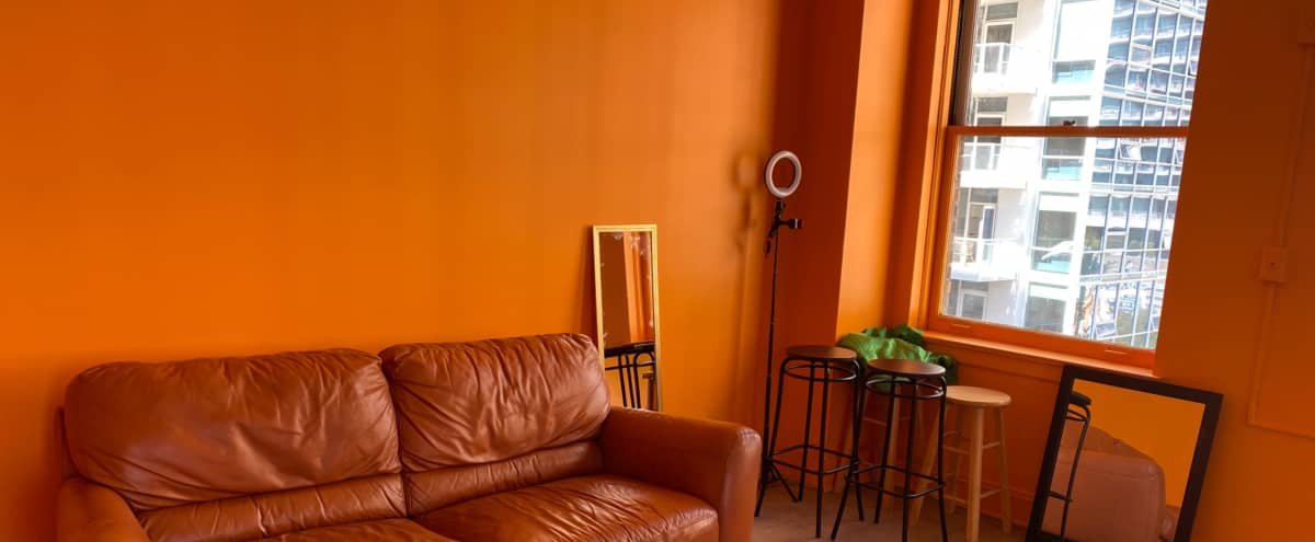 Orange Room in Los Angeles Hero Image in Central LA, Los Angeles, CA