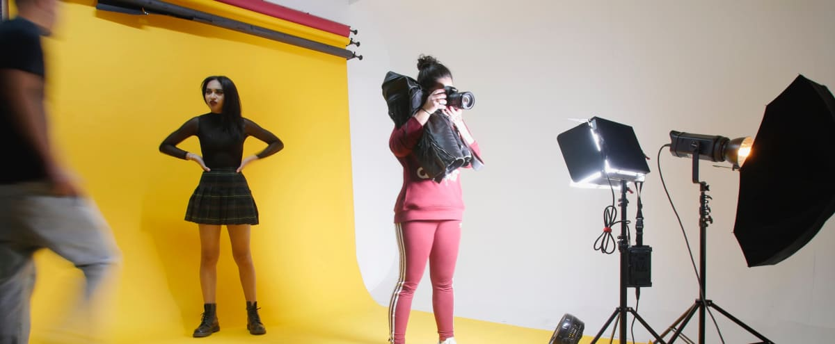 Bright, spacious & affordable photo studio in South Loop! in Chicago Hero Image in Lower West Side, Chicago, IL