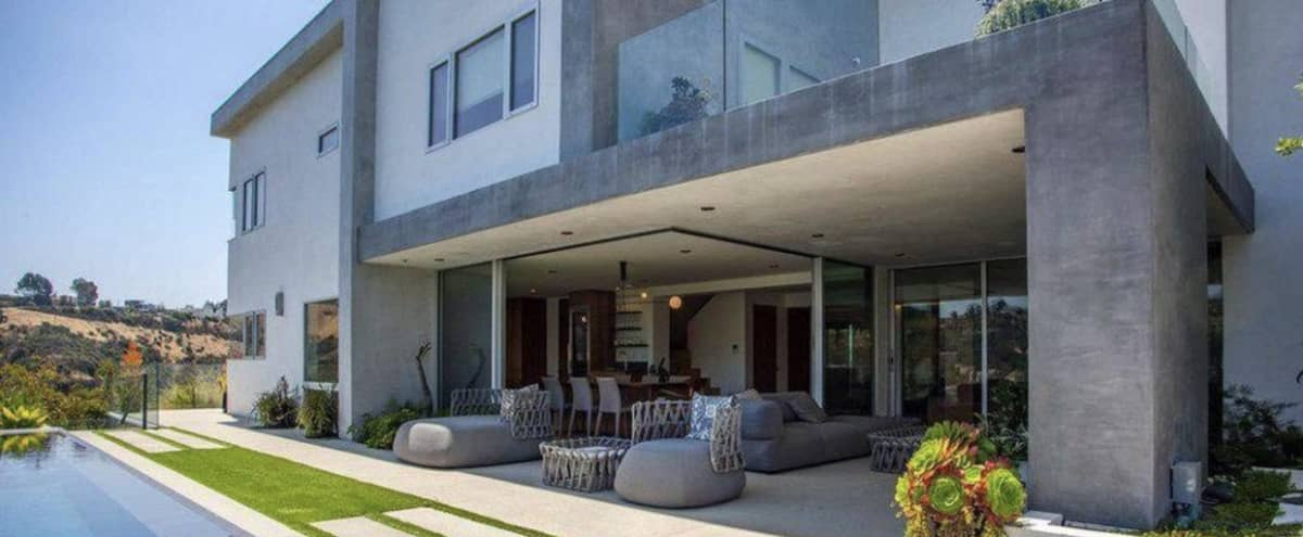 Magnificent Views, Contemporary Home. in Los Angeles Hero Image in Hollywood Hills, Los Angeles, CA