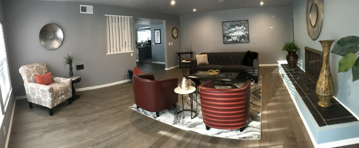 Roomy Urban home in Leimert Park. Huge living room great for a crime scene or drama. Modern open concept kitchen with great lighting. Large additional family room for intimate setting. 4 bedrooms, 3 baths. in Los Angeles Hero Image in Leimert Park, Los Angeles, CA