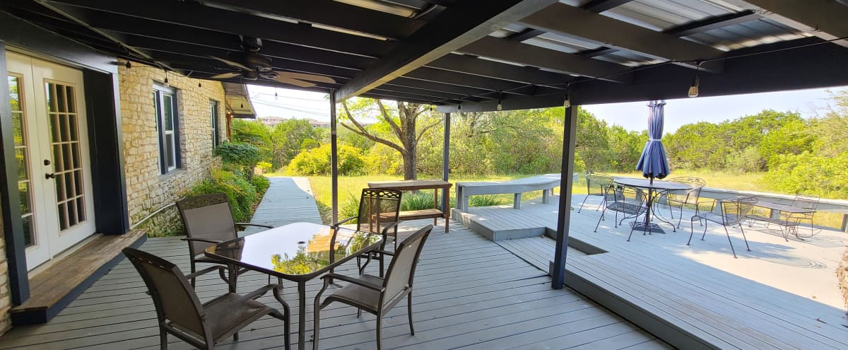 Hill Country Farm House & Outdoor Space in Austin Hero Image in Hillside Vista, Austin, TX
