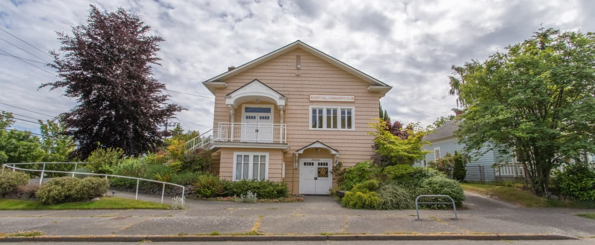 Classic, Restored Two-story Arts & Crafts–style Clubhouse (Lower Level) in SEATTLE Hero Image in Sunset Hill, SEATTLE, WA