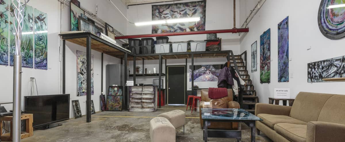 Unique BYOB Art Gallery and Working Studio space in West Logan Square in Chicago Hero Image in Logan Square, Chicago, IL