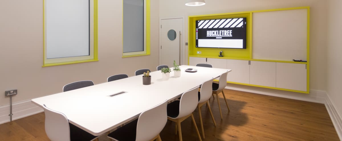 'Menlo' Finsbury Square Meeting Room, in the heart of the Silicon Roundabout in London Hero Image in Shoreditch, London,