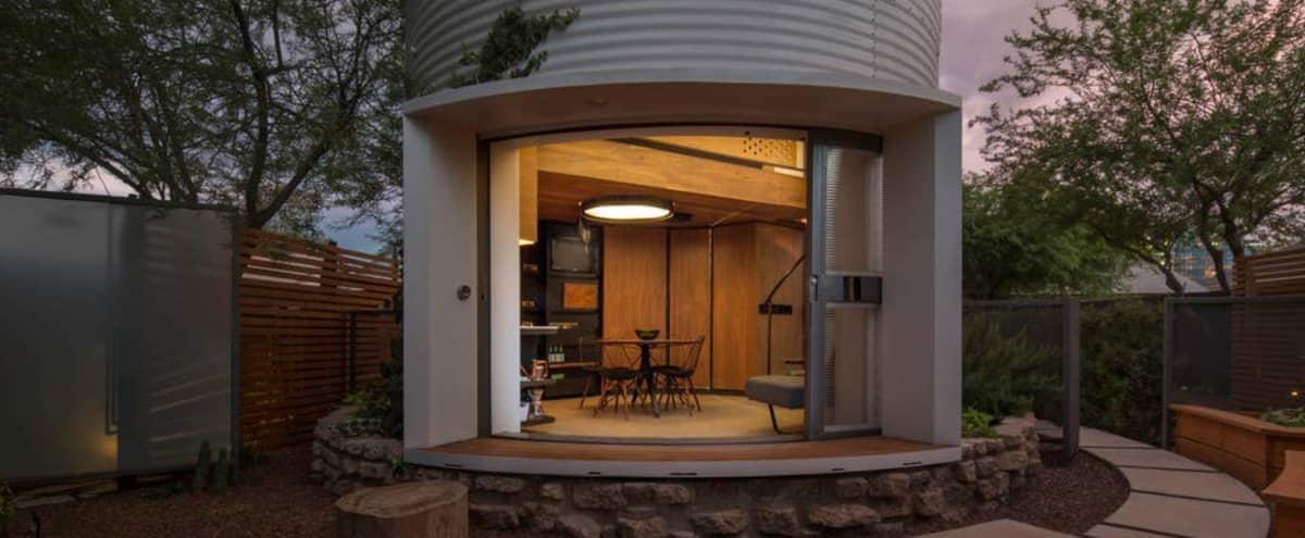 One-of-a-Kind Silo Home | Unique Hidden Gem in Phoenix Hero Image in Garfield, Phoenix, AZ