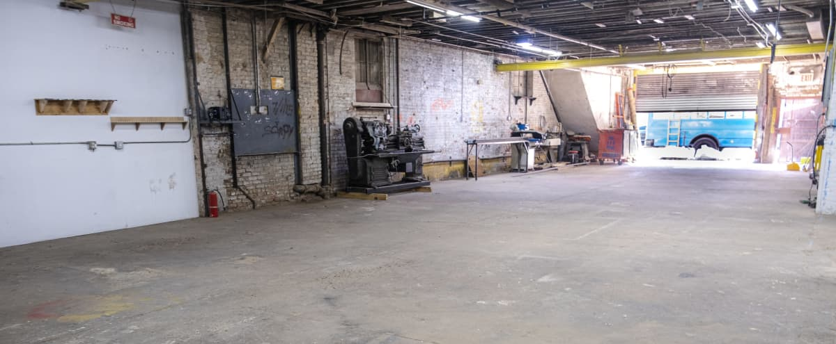 Raw Warehouse for Film or Photo Shoot, Bedstuy in Brooklyn Hero Image in Bedford-Stuyvesant, Brooklyn, NY