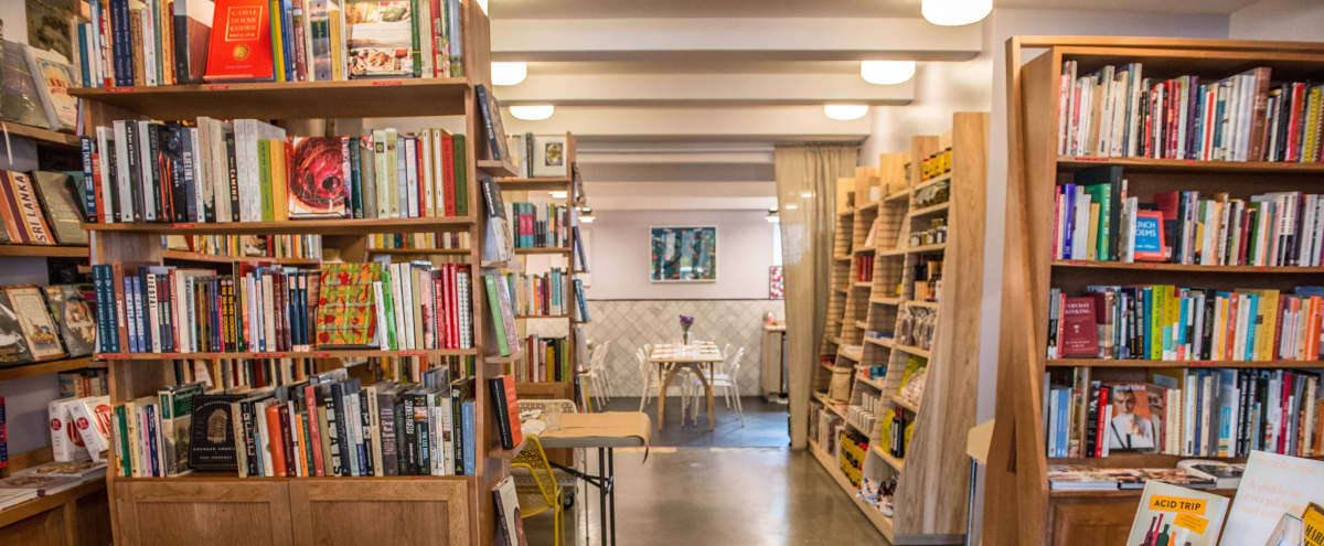 Inviting Bookstore Cafe in Historic Neighborhood in Brooklyn Hero Image in Greenpoint, Brooklyn, NY