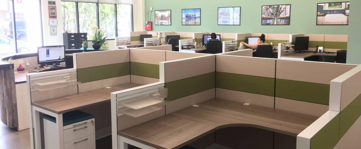 Well-lit open work space (desk 11) in Los Angeles Hero Image in South Los Angeles, Los Angeles, CA