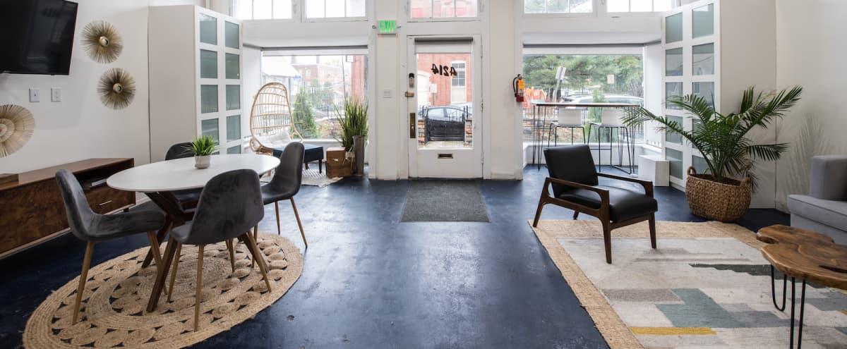 Open & Clean Event Space w/Kitchen & Backyard in Hyattsville Hero Image in undefined, Hyattsville, MD