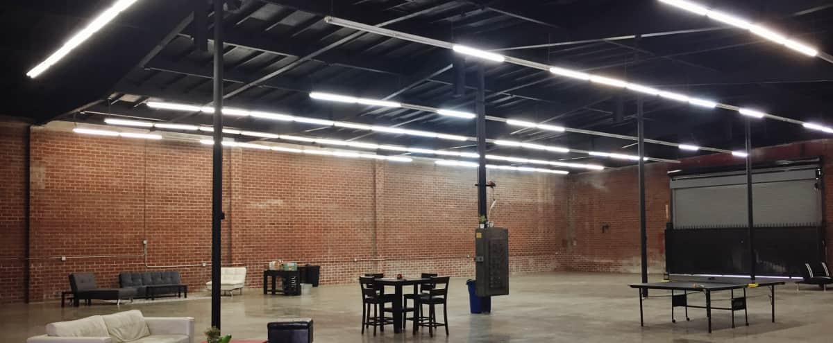 Newly Renovated 8,000 SF Downtown Industrial Brick Warehouse in Los Angeles Hero Image in South Los Angeles, Los Angeles, CA